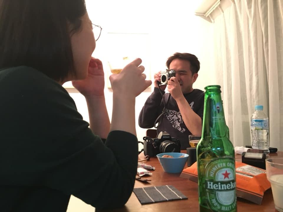 林和美写真画廊 青山夜会